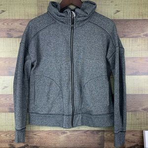 "Lululemon ""Hug it Out"" hoodie EUC W cinched collar"